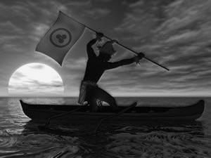 Chamalu-y-bandera-de-la-Paz
