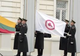 Lituania peace flg