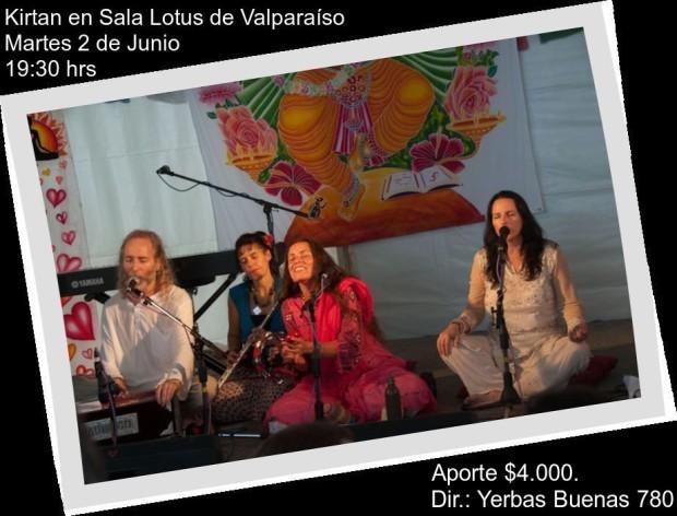 Sangeeta en Valpo