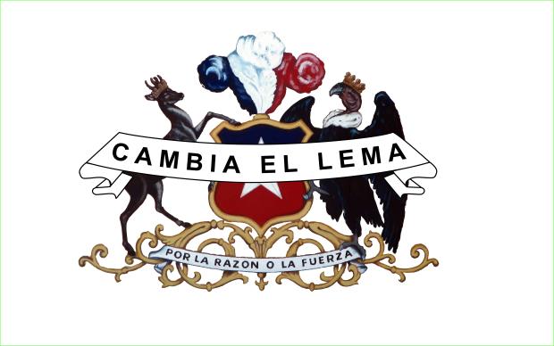 CAMBIA EL LEMA centrado registro